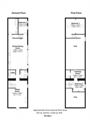 The Barn Floor Plan