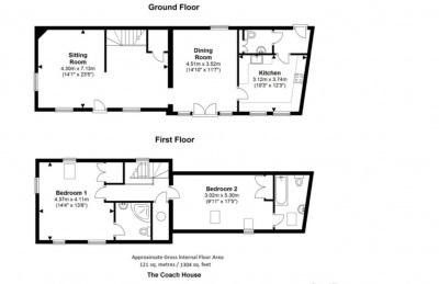 The Coach House floor plan
