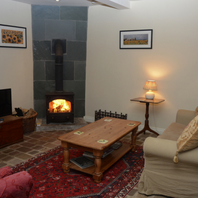 Photo of the Coach House living room
