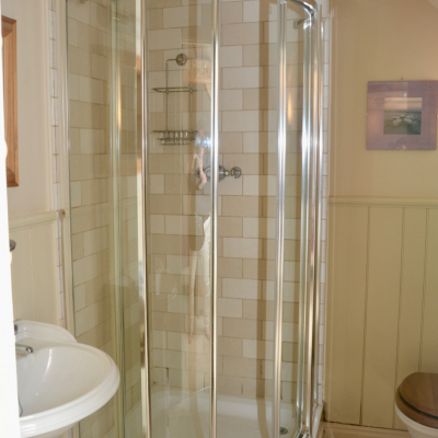 The Coach House shower