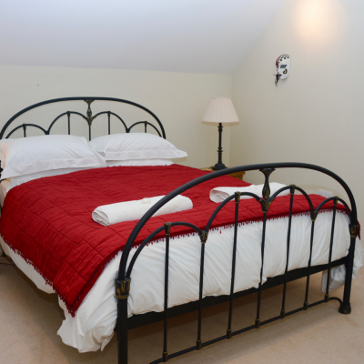 The Coach House king size room
